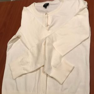 White Talbots cardigan